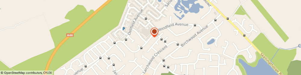 Route/map/directions to cathedral maintenance uk, LN6 0LU Lincoln, 99 woodfield avenue