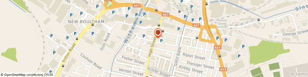 Route/map/directions to Maxaudio, LN5 8BQ Lincoln, High Street
