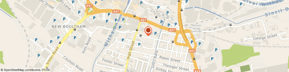 Route/map/directions to The Barbell Room, LN5 7JX Lincoln, 20 Portland St