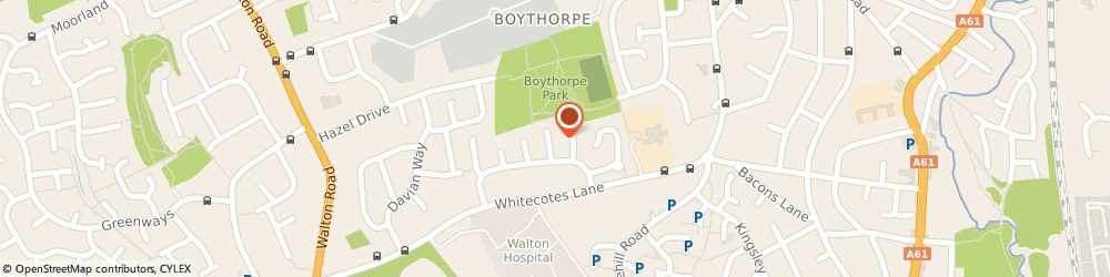 Route/map/directions to Kays Tree & Garden Services, S40 3SA Chesterfield, 12 Bennimoor Way