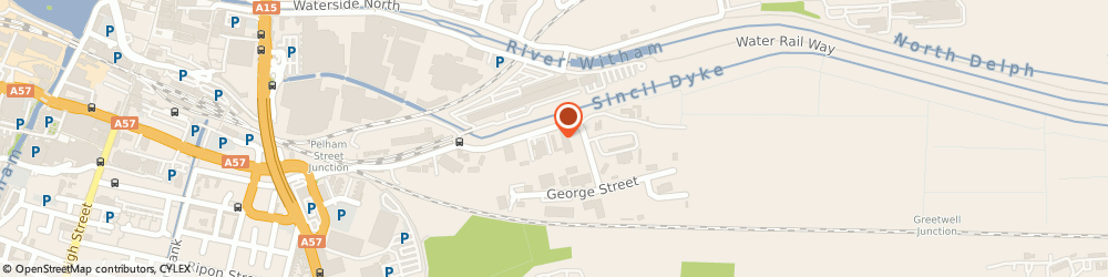 Route/map/directions to SK Motorcycles, LN5 8HJ Lincoln, 82b Great Northern Terrace