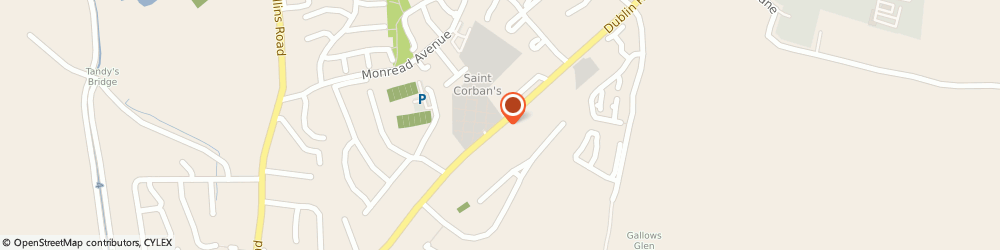 Route/map/directions to Healy Free Fit Exhaust & Tyre Centre,  Naas, DUBLIN ROAD