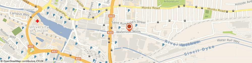 Route/map/directions to Environment Agency- Lincoln, LN2 4DW Lincoln, Searby Rd, Ceres house