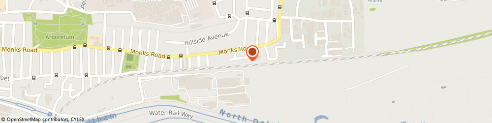 Route/map/directions to Electromec, LN2 5LN Lincoln, 6 Monks Way