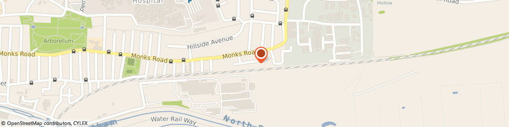 Route/map/directions to Monson Motor Factors, LN2 5LN Lincoln, 8 Monks Way
