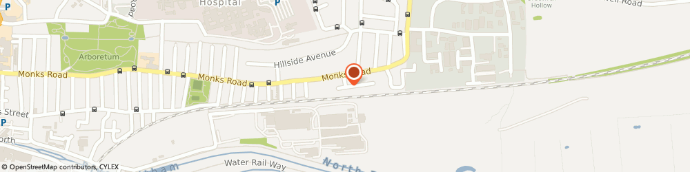 Route/map/directions to Connell and Fisher Plumbing and Heating Ltd, LN2 5LN Lincoln, 10 Monks Way