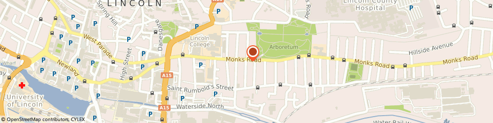 Route/map/directions to R Foster & Son Ltd, LN2 5HT Lincoln, 111 Monks Rd