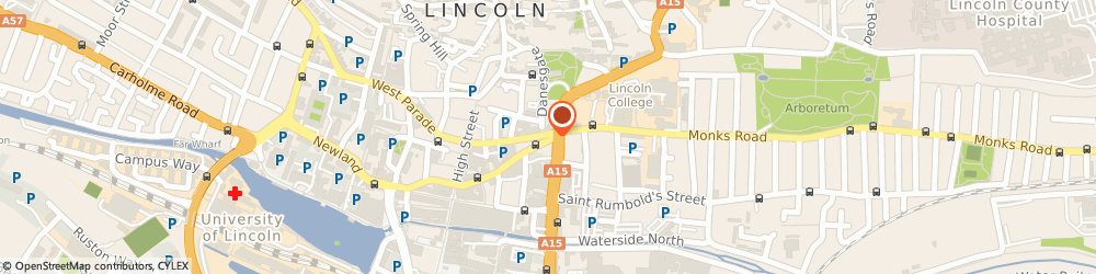 Route/map/directions to Bairstow Eves Estate Agents Lincoln, LN2 1EW Lincoln, 21-23 Silver Street