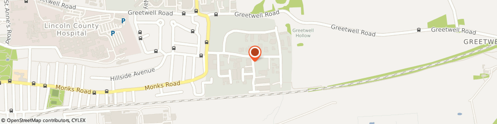 Route/map/directions to Vauxcare, LN3 4PB Lincoln, 4 Wavell Road