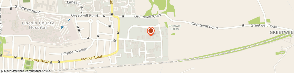 Route/map/directions to Witham Hill Gymnastics Club, LN3 4NL Lincoln, 15B Crofton Road