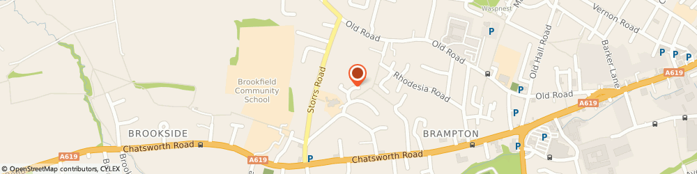 Route/map/directions to Groundsmiths (UK) Ltd, S40 3FG Chesterfield, 12 Spruce Cl