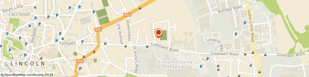 Route/map/directions to Imperial Plumbing, LN2 4BA Lincoln, 45 Greetwell Close
