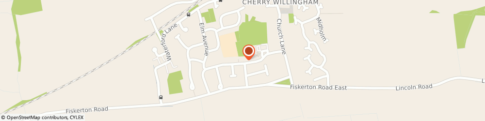 Route/map/directions to Cherry Tree Inn, LN3 4AS Lincoln, Cherry Willingham