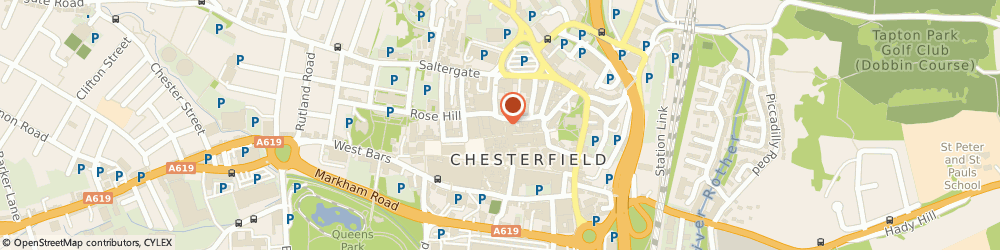 Route/map/directions to Timpson, S40 1RE Chesterfield, 23 Packers Row
