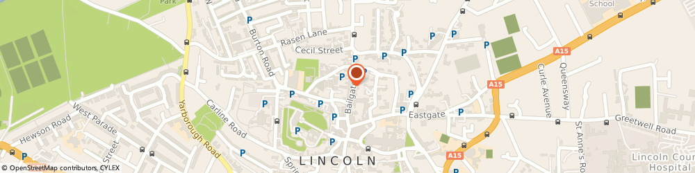 Route/map/directions to Newport Arch Chinese Restaurant, LN1 3AP Lincoln, 50 Bailgate
