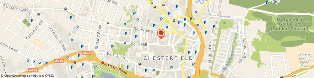 Route/map/directions to Ladies Fitness & Wellness, S40 1UR Chesterfield, 5 ELDER WAY
