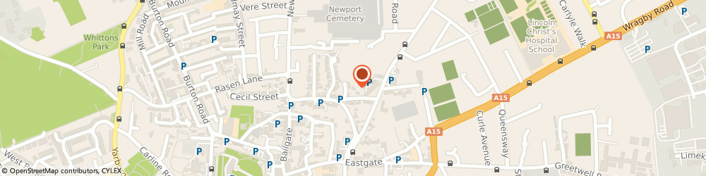 Route/map/directions to Activezone, LN2 1QR Lincoln, Lincoln Minster Pre-Preparatory Sch