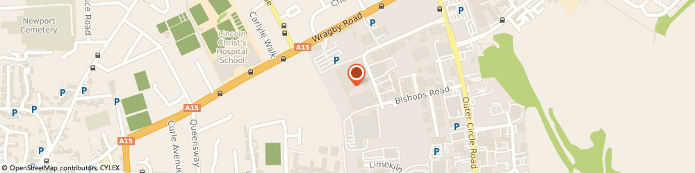 Route/map/directions to Tesco Mobile, LN2 4QQ Lincoln, Wragby Road