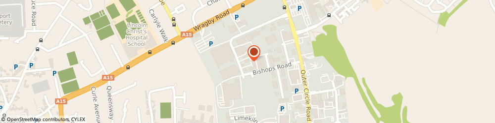 Route/map/directions to Sue's Cars, LN2 4JB Lincoln, Unit 14