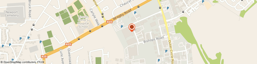 Route/map/directions to Vision Express Opticians at Tesco - Lincoln, LN2 4QQ Lincoln, Tesco, Wragby Road