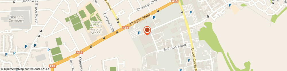 Route/map/directions to Decks, LN2 4QQ Lincoln, 186 Wragby Road, Wragby Road