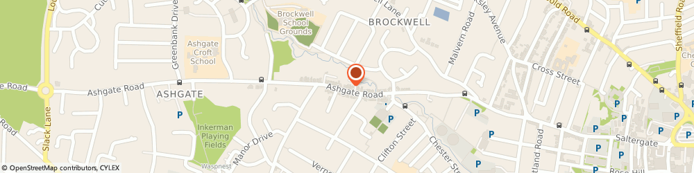 Route/map/directions to Roberts Property Services, S40 4AJ Chesterfield, 10 Heathfield Avenue