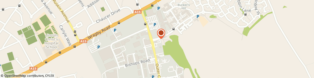 Route/map/directions to Taylor Woodrow Developments, LN2 4WJ Lincoln, Carlton Boulevard