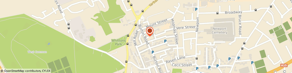 Route/map/directions to Clear View Opticians, LN1 3LW Lincoln, 169 Burton Road