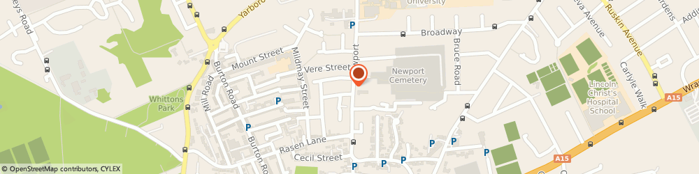 Route/map/directions to TaxAssist Accountants, LN1 3DW Lincoln, 69-71 Newport