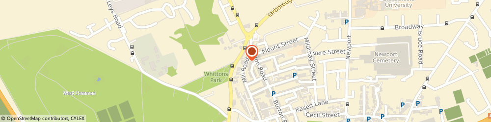 Route/map/directions to Blue Plumbers Ltd, LN1 3JH Lincoln, 90 MILL ROAD