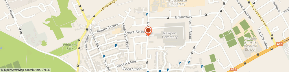 Route/map/directions to J T Entertainment & Disco's, LN1 3EG Lincoln, 1a Spital Street