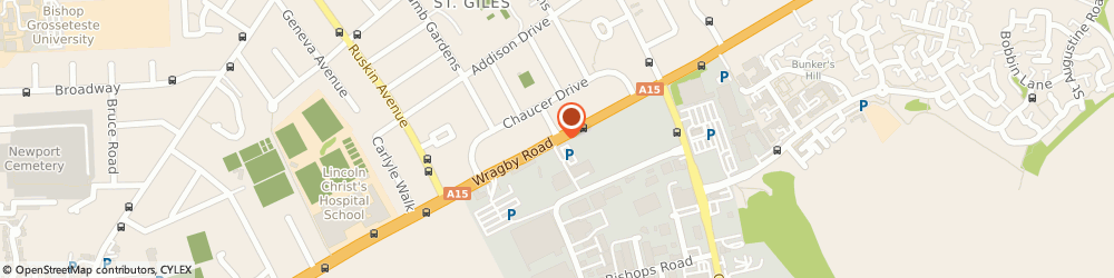 Route/map/directions to Smith Central, LN2 4PX Lincoln, 252, WRAGBY ROAD