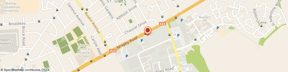 Route/map/directions to Wilco Motosave, LN2 4PX Lincoln, 272-274 Wragby Road