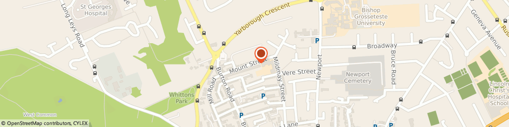 Route/map/directions to Cragg Electrical Services Limited, LN1 3JF Lincoln, 37 MOUNT STREET