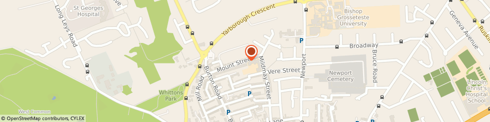 Route/map/directions to Kf Electrical, LN1 3JG Lincoln, 50 MOUNT STREET