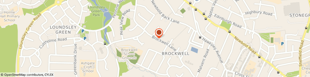 Route/map/directions to Moore Drystone Walling, S40 4EF Chesterfield, 162 Brockwell Lane