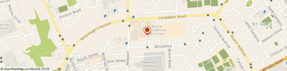 Route/map/directions to Acorn Glass and Glazing, LN1 3DY Lincoln, B G Futures Building