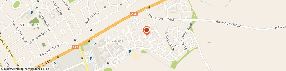 Route/map/directions to ASP Construction Lincoln Ltd, LN2 4GJ Lincoln, 23 Flaxley Close
