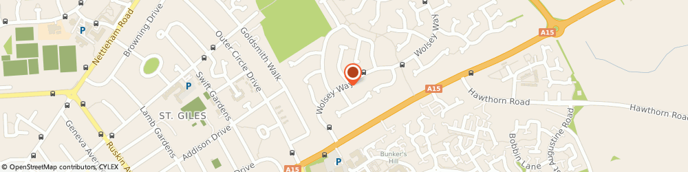 Route/map/directions to Salon 2, LN2 4SX Lincoln, 310 WOLSEY WAY