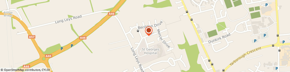 Route/map/directions to BUNTY'S TEA ROOM LIMITED, LN1 1AD Lincoln, 3 Manrico Drive