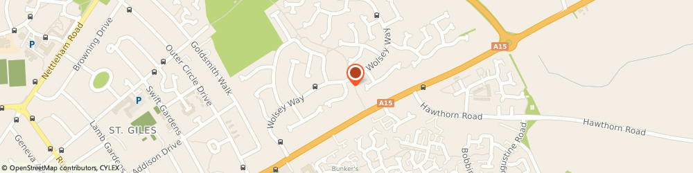 Route/map/directions to DB BUILDING SOLUTIONS LIMITED, LN2 4RT Lincoln, 5 Neil Close