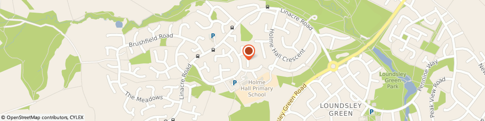 Route/map/directions to Post Office Limited, S40 4SL Chesterfield, 2 Wardgate Way