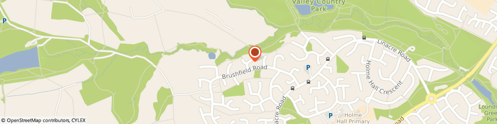 Route/map/directions to Peak Logistics, S40 4XS Chesterfield, 5 Ravenswood Road