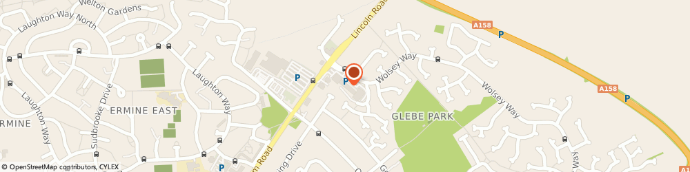 Route/map/directions to Iceland Foods - Nettleham Rd, LN2 4SX Lincoln, Wolsey Way, Nettleham Road