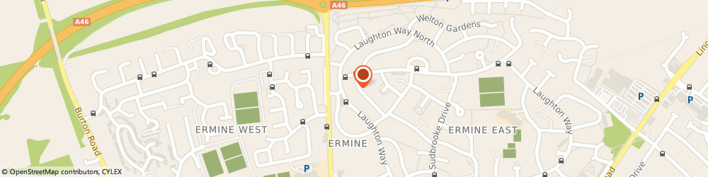 Route/map/directions to Anita Page Accountancy Services, LN2 2DP Lincoln, 36 Torrington Rd