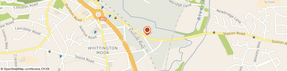 Route/map/directions to Davies Envelopes, S41 9BT Chesterfield, Henry Street