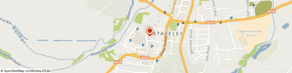 Route/map/directions to Window Dressings, S43 3UU Chesterfield, 31 High St