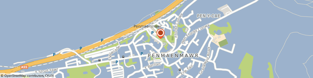 Route/map/directions to BLA TRANSLATION LIMITED, LL34 6AR Penmaenmawr, 4 Paradise Crescent Paradise Road