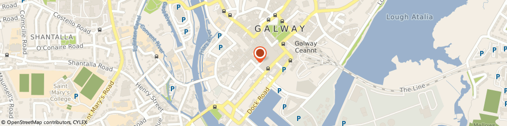 Route/map/directions to Hansel & Grettel Unisex Hair Salon,  Galway, 25 LR ABBEYGATE ST