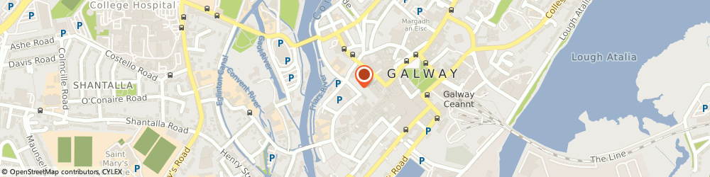 Route/map/directions to Kultured Kurl,  Galway, 23 ABBEYGATE ST UPR